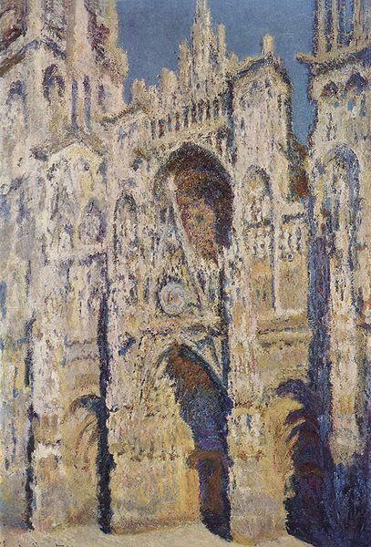 Claude Monet-La cathédrale de Rouen