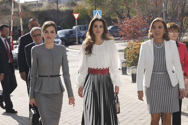Rania et Letizia en visite