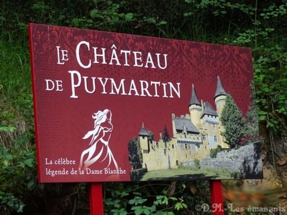 La dame blanche du Puymartin