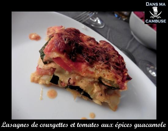 lasagnes légumes guacamole