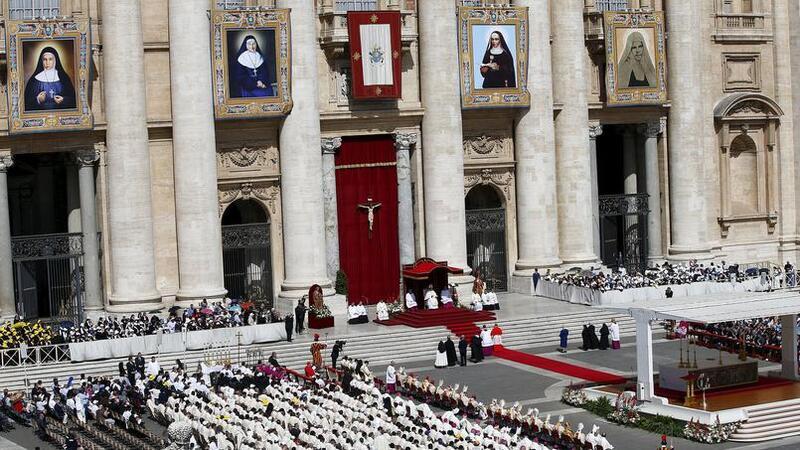 Canonisation de quatre religieuses