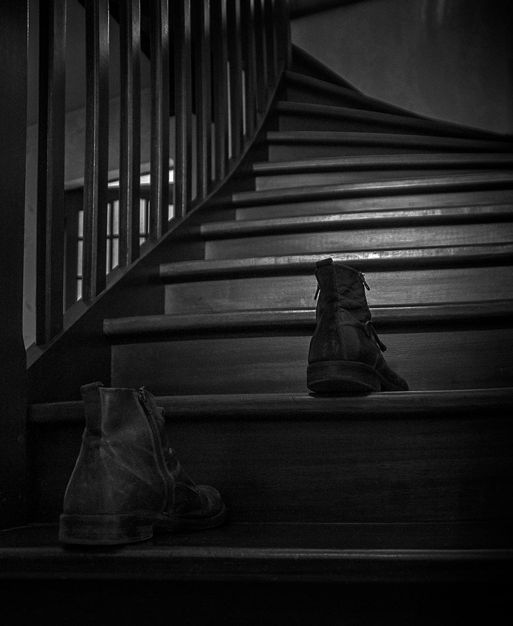 escalier ..
