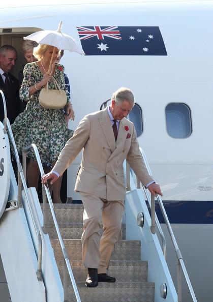 Charles et Camilla en Australie