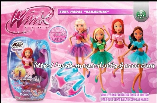 Winx fairy dance