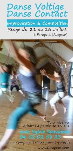 • Danse voltige danse improvisée juillet 2019