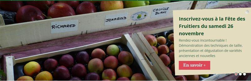 Fête des fruitiers à la pépinière chatelain...