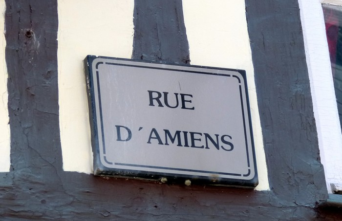 ROUEN, du Palais de Justice à l'église St-Ouen