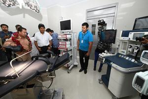Presidente Morales entrega moderno hospital de segundo nivel e ...