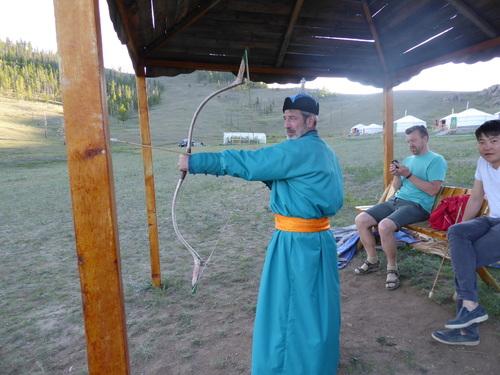 Voyage Transsibérien 2017, le 20/07, 13 ème jour,  Mongolie, séance costume