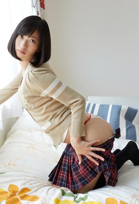 Digital Photobooks : ( [解禁グラビア写真集] - |2017.03.10| Yuka Kuramochi : 尻系女子 )