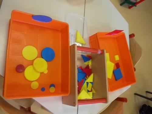 Tri de formes géométriques