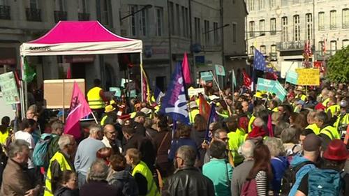 Le premier mai, les syndicats et les gilets jaunes