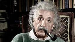 Vous Monsieur Einstein....