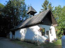 La chapelle du point de départ de la randonnée