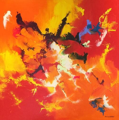 Thierry ZDZIEBLO : une énergie dans une explosion de couleurs