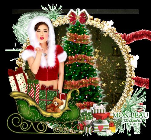 Doux baiser de Noël