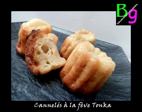 cannelés Tonka