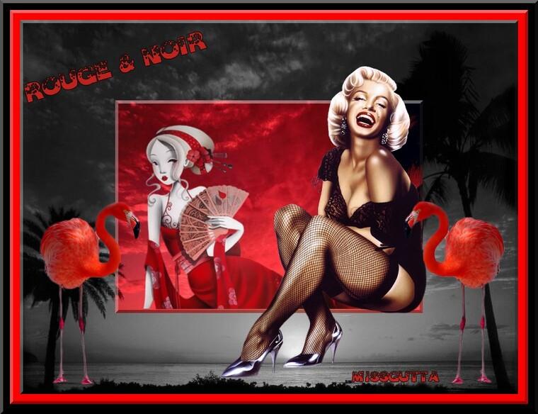 Défi Lilimaya rouge et noir & Nathie 13 or fête des pères !
