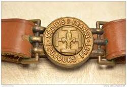 Boucles de ceinturons Scouts