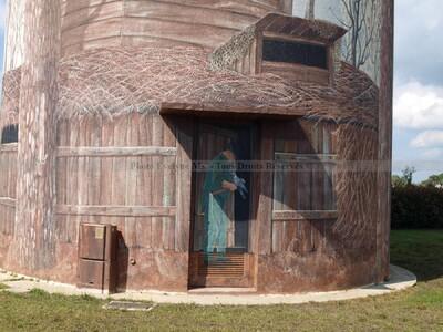 Chateau d'eau de St Martin d'Oney - Magnifique travail