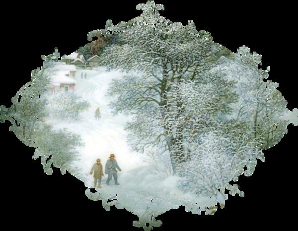 Paysage de Noël ,Hiver / 2