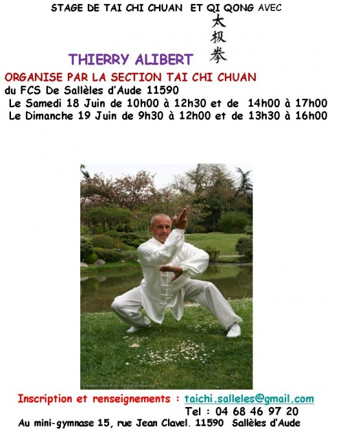 2011.06 - Stage Therry Alibert