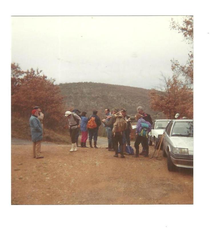 Club de géologie le béryl Tournefeuille 1990 forêt gresigne dept82 001