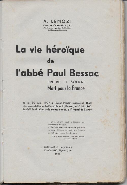 Prêtres et séminaristes dans la guerre ( guerre 1914-1918)
