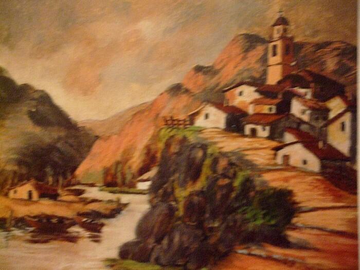 Village espagnol de pêcheurs n° 1