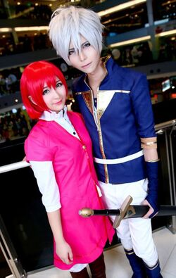 Akagami no Shirayukihime cosplay