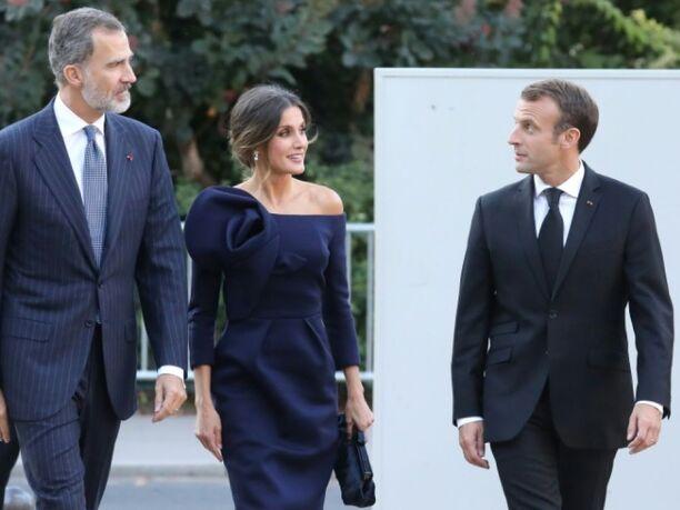 Felipe et Letizi en France