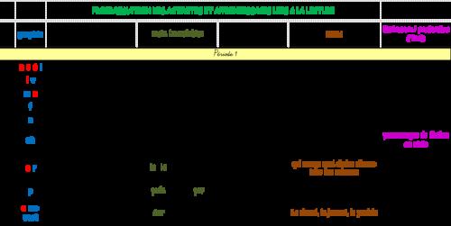programmation lecture Léo et Léa Lecture grammaire vocabulaire, DDM, littérature, production d'écrits