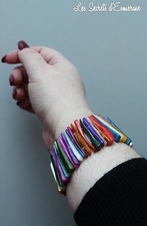 Ce qu'il y a de positif à passer à côté de ses Soldes... bijoux chérie, bracelet, les secrets d'esmerine