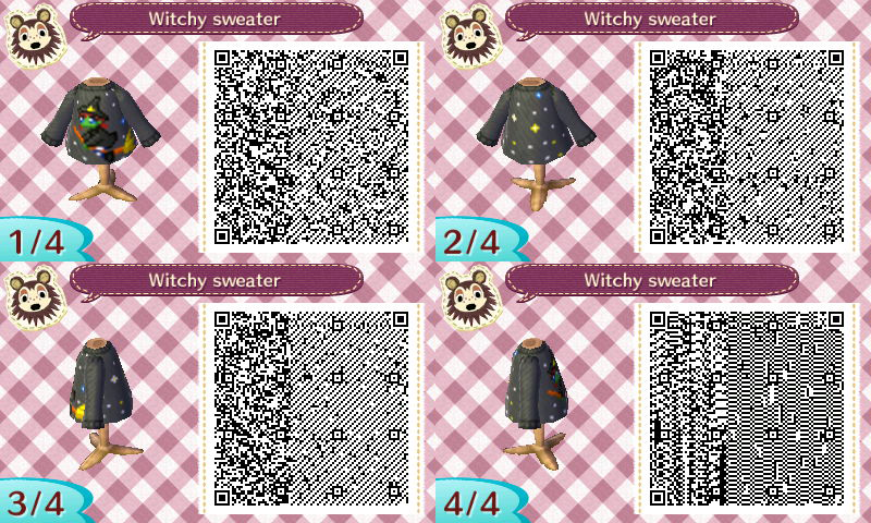 Très qr code (vêtement sol ) - animal crossing HG98