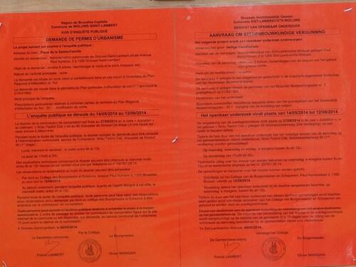 Wolu1200 : Les ouvriers communaux de WSL ont de l'humour !!!