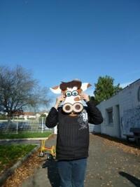 Masque vache Parthenay