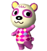 Rosine animal crossing WII