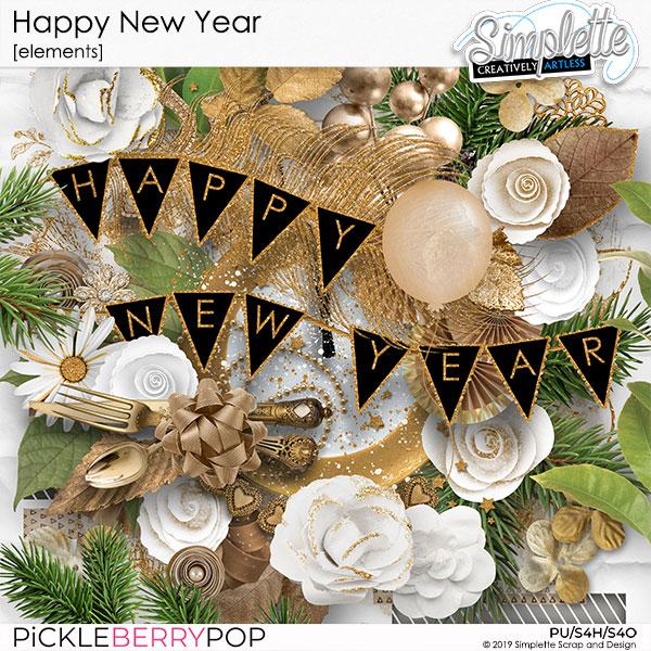 31 decembre : HAPPY NEW YEAR Simpl589