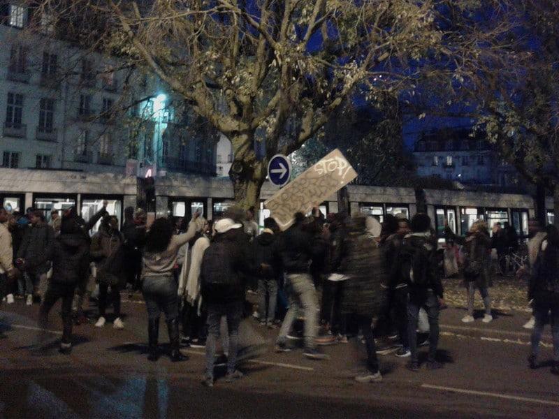"""à Nantes, le message fut clair,  """" sales putes de blancs """""""
