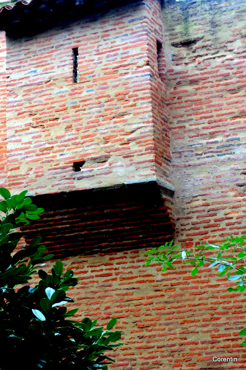 Toulouse : vieux près de la cité administrative