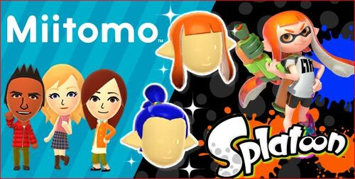 Splatoon-inspired items will soon be seen in Miitomo
