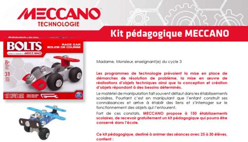 150 kits Meccano