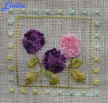 SAL duo : le jardin aux trèfles - étape 1 - les hortensias d'Eloïse