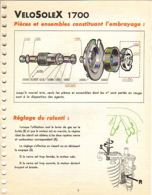 Mécanique du 1700