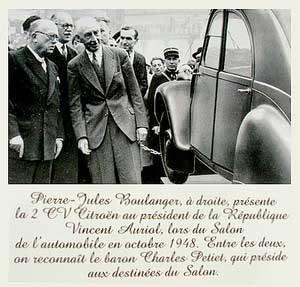 HISTOIRE DE LA CTROËN 2CV