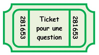 Ticket question gestio comportement