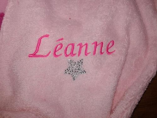 le peignoir de Léanne !