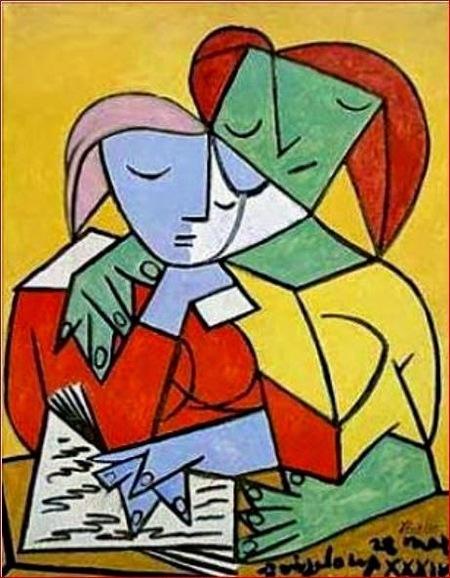 02 - Les jeunes filles la lecture - dans la peinture au 20eme siècle