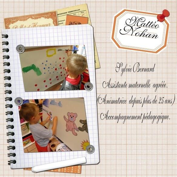 Blog de sylviebernard-art-bouteville : sylviebernard-art-bouteville, Mme Sylvie Bernard assistante maternelle agréée (animatrice) - Accompagnement pédagogique.