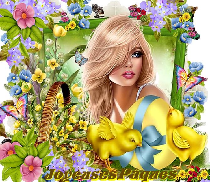 Belles Fêtes de Pâques à Vous***